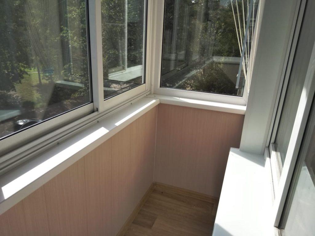 Отделка балкона или лоджии под ключ